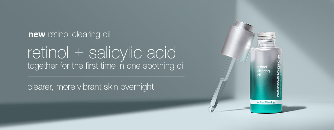 Retinol Clearing Oil Banner